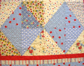 Baby or Child Quilt -Free Shipping