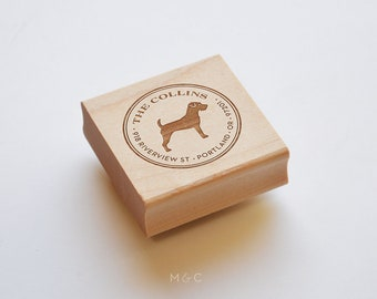 Jack Russell Terrier - Dog Breed Collection - Personalized Stamp
