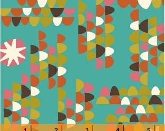 A Nod To Mod - Gumdrops Aqua Teal by Jan Avellana from Windham Fabrics