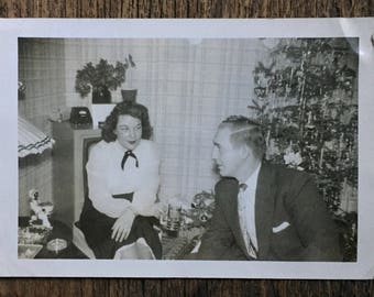 Original Vintage Photograph Holiday Discussions