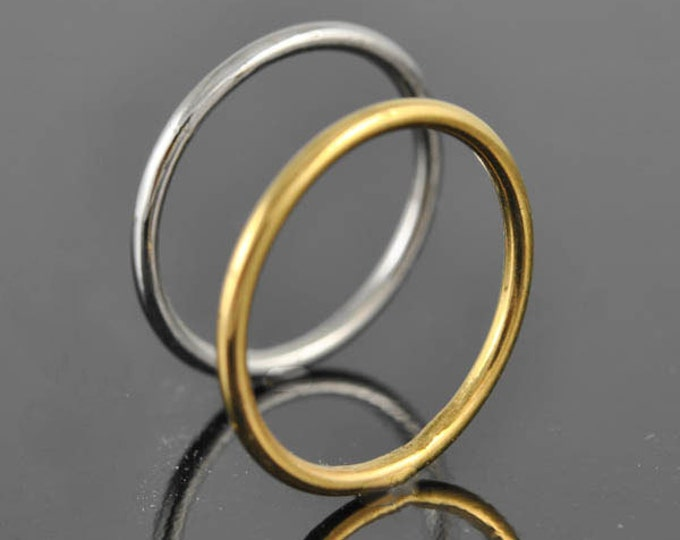 yellow gold ring, band, wedding, engagement, promise, stacking, ring, rose gold, white gold, Size up to 9