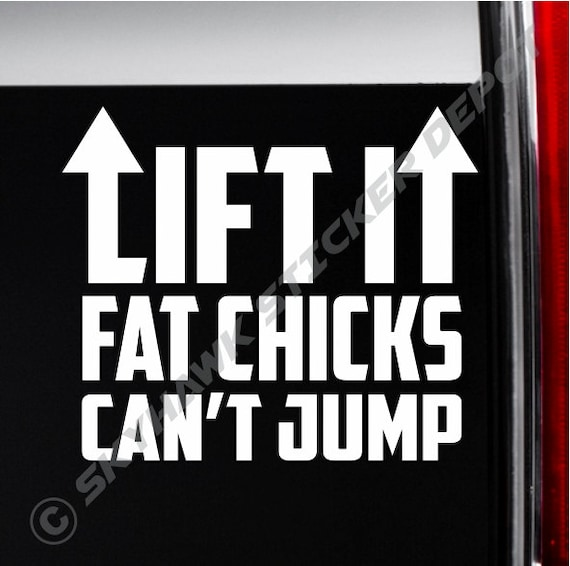 lifted truck stickers
