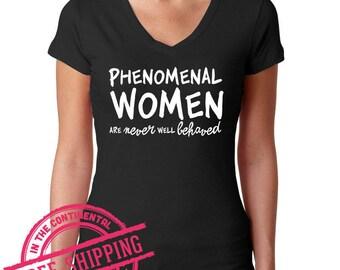 Phenomenal Women - Herstory - Maya - Quote Shirt - Feminist Tshirt - Feminist Tee - Resist tshirt - Dissent Tshirt - Inspirational feminist 7TvMBEoY