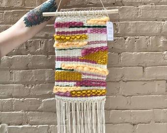 Weaving Me Softly Wall Hanging