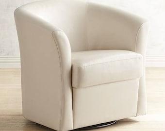 Superior Custom Barrel Chair Slipcover