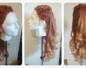 Aloy - Horizon: Zero Dawn - Cosplay wig - Made to order - OPTION 1