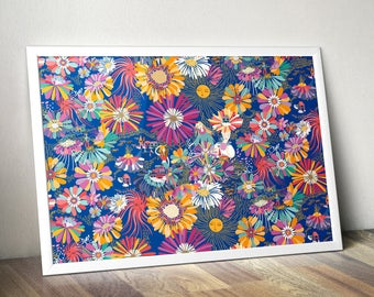 Poster floral 40 x 60 cm