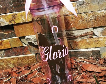 Personalized Water Bottle | Personalized Tumbler | Horse Customized Water Bottle | Customized Water Bottle