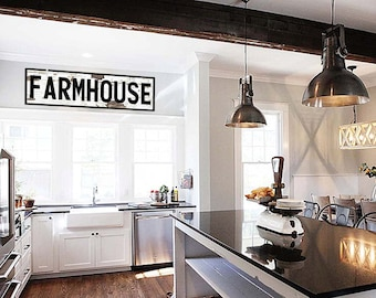 Farmhouse Sign Gift for Her Farmhouse Sign Fixer Upper Large Canvas Sign Farmhouse Signs for Kitchen Rustic Home Decor Fixer Upper Style