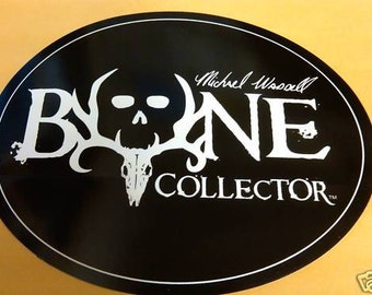 Hunting Buck Bone Collector  decal  free shipping