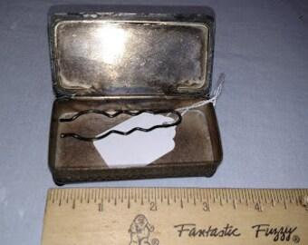 Victorian hair pin box