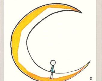 Moon Girl, Moon girl