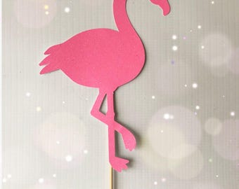 Flamingo Cake Topper|