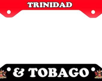 Trinidad & Tobago License Plate Frame Novelty Tag