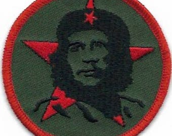 Che Guevara Embroidered Patch / Iron-On Applique