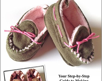 Pixie Faire Miche Designs Moccasins Shoe Doll Clothes Pattern for 18 inch American Girl Dolls - PDF