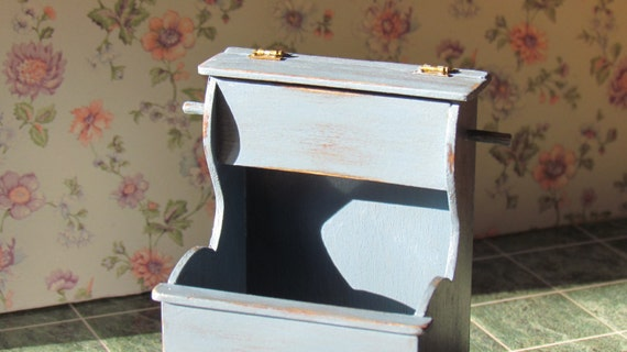 Dollhouse Firewood Box Shaker style Handcrafted 12th scale Miniature  Furniture