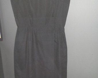 Vintage Chic Black Dress