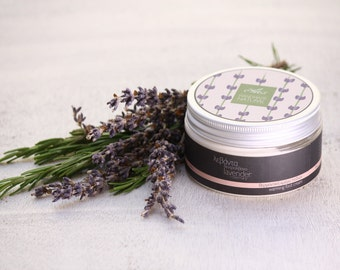 Organic warming foot cream rosemary – lavender