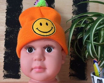 RAVE Kids Hat Childrens Cap with Pom Pom in Acrylic 1-3 Years Unisex