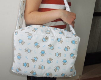 Carriage Bag, baby carrier, baby carriage bag, baby boy bag, baby travel bag,baby diapers bag,mom's bag,baby boy large bag,carriage baby boy