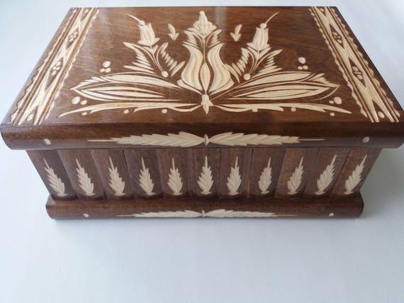 Giant jewelry storage box puzzle box magic box secret box
