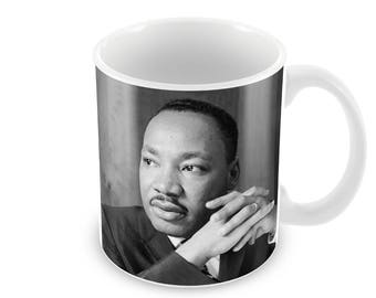 Martin Luther King  Ceramic Coffee Mug    Free Personalisation