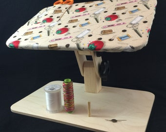 Lap App Adjustable Lap Table for Sewing & Crafts