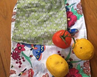 Reusable Bulk Food Bags - 1 Small and 1 Medium