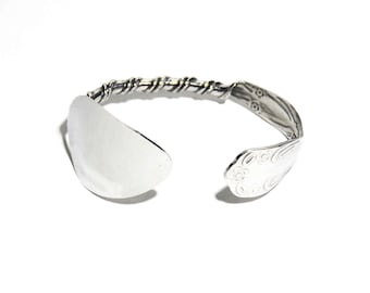 Stainless Steel Spoon Bracelet, Cuff Spoon Bracelet, Women, Men, Ready To Ship, Adjustable, BLB 4,