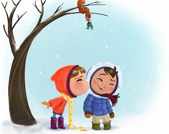 Snowy Days Print