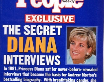 BTS People Magazine October 23, 1997 The Secret Diana Interviews