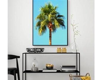 TROPICAL PRINT | Palm Tree Print | Tropical Decor | Digital Download | Printable Wall Art