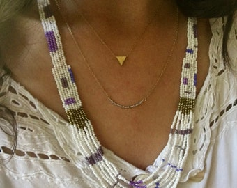 Wisteria Beaded Necklace