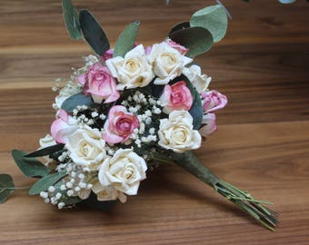 Paper Rose Bouquet | Paper Wedding Flowers