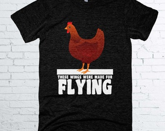These Wings Were Made For Flying, Vegan Shirt