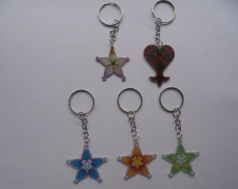 Kingdom Hearts Keychains -  Wayfinder aqua - wayfinder terra - wayfinder ventus - heartless - Kairi lucky charm
