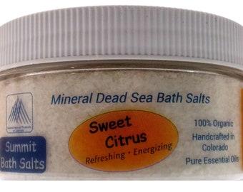 Sweet Citrus Bath Salts (8oz)