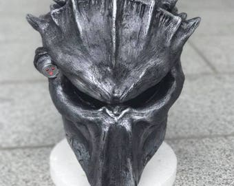 Predator inspired cosplay/art mask made to order.