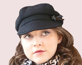 SEWING PATTERN: City Tour Slouchy Newsboy Cap
