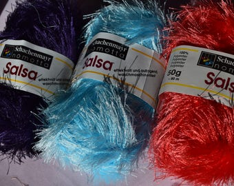 SALSA Fashion Yarn in 3 colors