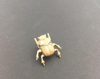 Scarab Pin, Insect Pin, Insect Brooch, Bug Pin, Bug Jewelry, Insect Jewelry, Scarab Jewelry, Scarab Beetle, Beetle Brooch, Beetle Jewelry