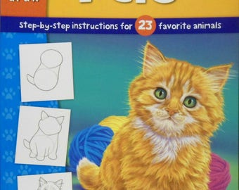 Walter Foster Learn to Draw Pets Book 23 Favorite Animals