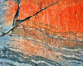 Glacial Rock Art I, Wasatch Mountains, Utah