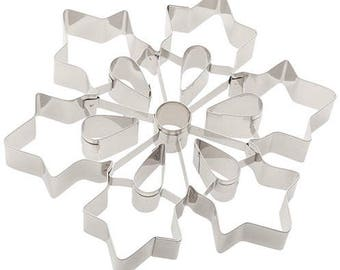 Ateco Eight Inch Snowflake Cookie Cutter