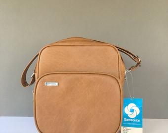 Vintage Samsonite Concord Travel Bag, Carry On Bag, Messenger Bag