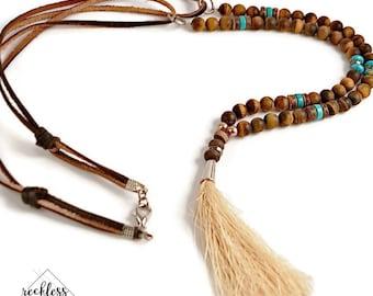 Cowgirl Tassel Necklace Boho Necklace Boho Jewelry Western Jewelry Cowgirl Jewelry Gift Idea for Her Cowgirl Necklace Sister Gift Cowgirl