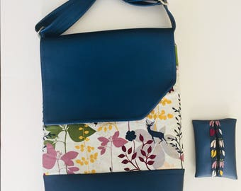 Field Ministry Tote Bag- Forest /Messenger