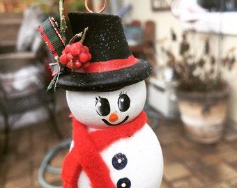 Snowman Ornament ,  Christmas Ornament , Snowman , Ornament , Holiday Ornament , Christmas Ornaments , Christmas Snowman , Snowman Ornaments
