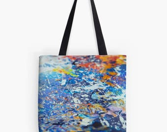 Original Wax Art Tote Bag